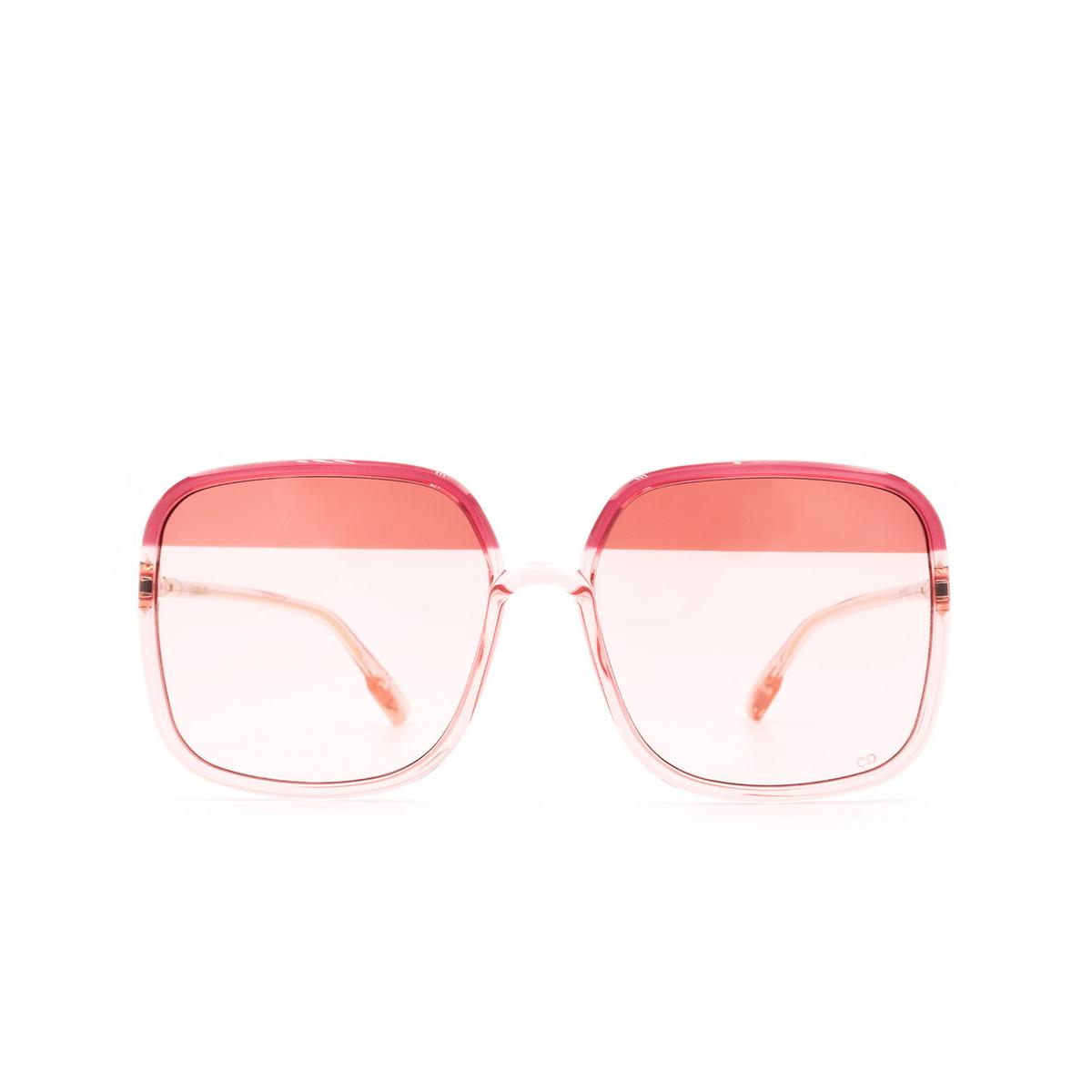 Dior® Square Sunglasses: SOSTELLAIRE1 color Bordeaux OT5TX.