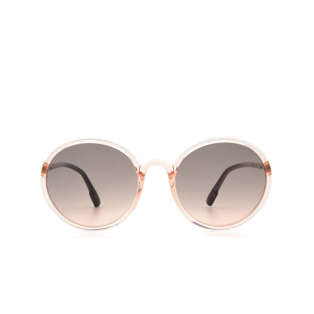 Dior® Round Sunglasses: SOSTELLAIRE2 color Coral 1N5/FF.