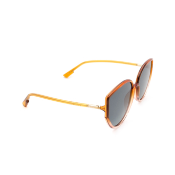 Dior® Round Sunglasses: SOSTELLAIRE4 color Orange Gradient Pink 09Z/1I.