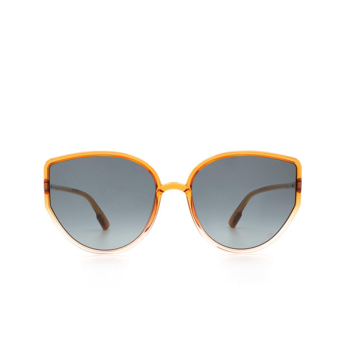Dior® Round Sunglasses: SOSTELLAIRE4 color Orange Gradient Pink 09Z/1I.