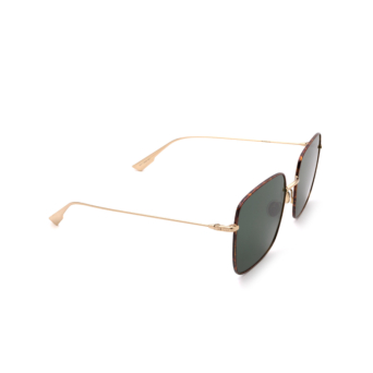 Dior® Square Sunglasses: STELLAIRE1XS color Gold Havana 06J/O7.
