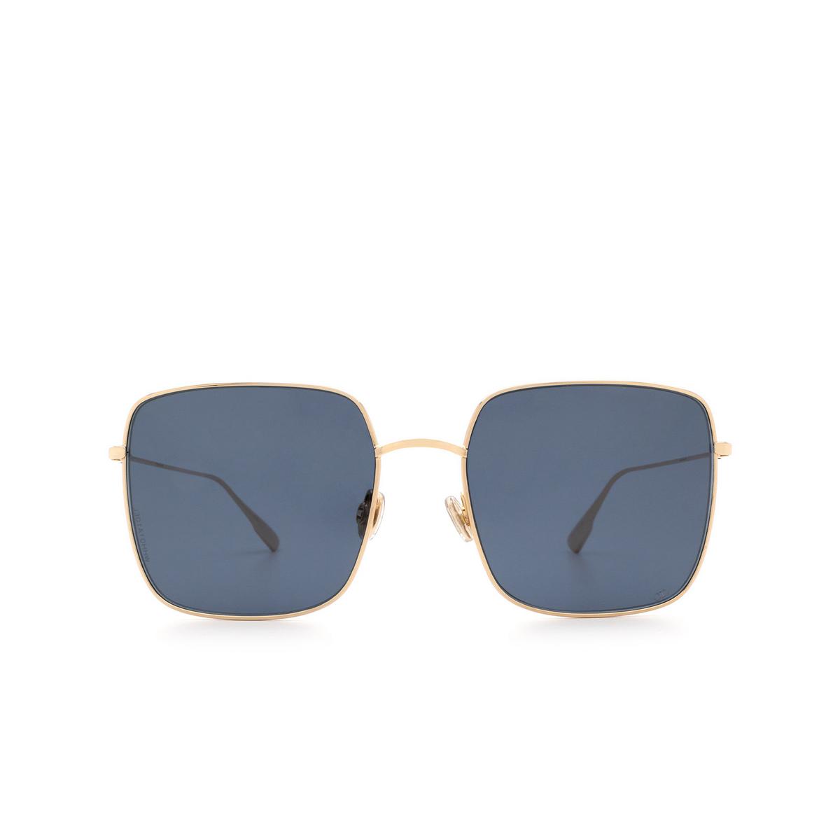 Dior® Square Sunglasses: STELLAIRE1XS color Gold J5G/A9.