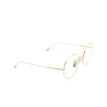 Dita® Round Eyeglasses: Believer DTX506-52-01-Z color Gold Gld.