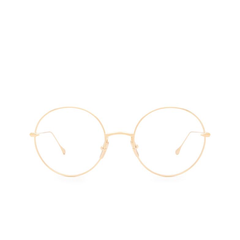 Dita® Round Eyeglasses: Believer DTX506-52-01-Z color Gold Gld.