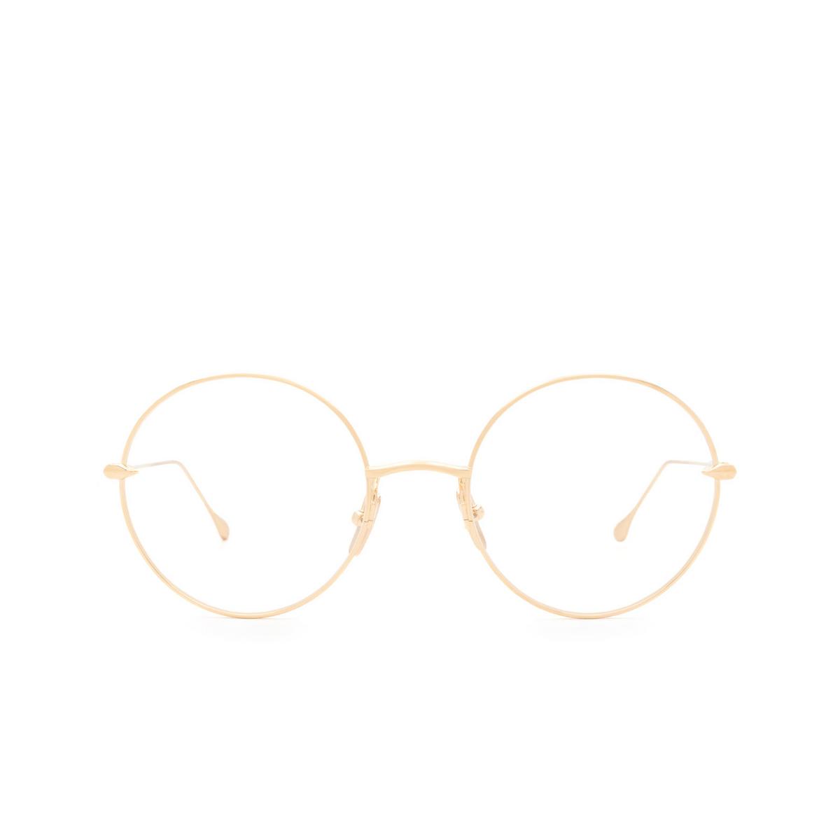 Dita® Eyeglasses: Believer DTX506-52-01-Z color Gold Gld - front view.