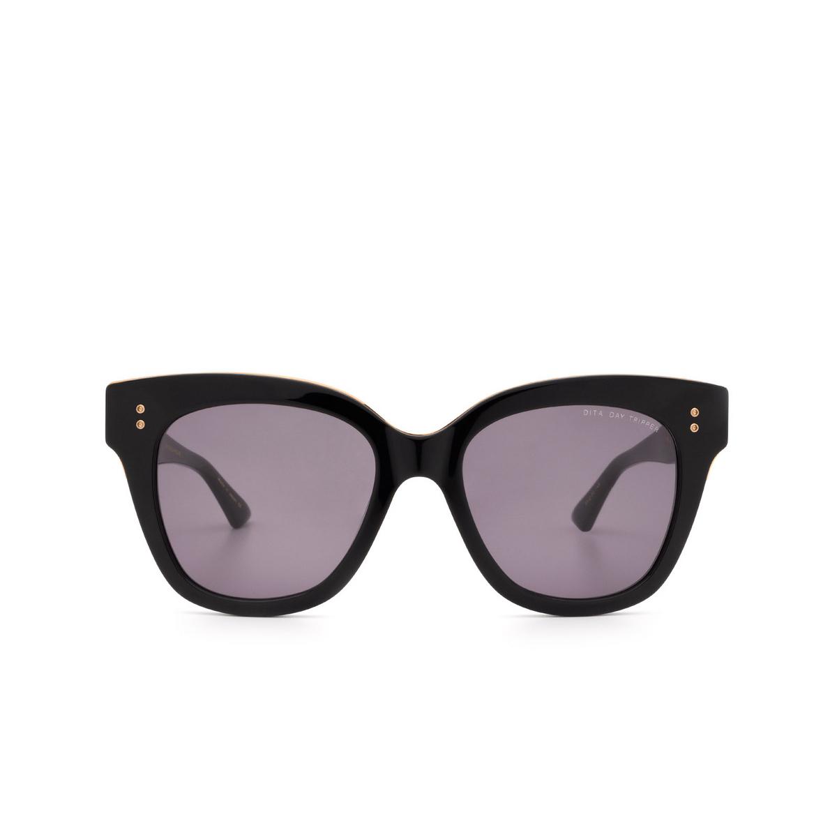 Dita® Butterfly Sunglasses: Day Tripper 22031-E color Black / Rose Gold Blk-rgd.