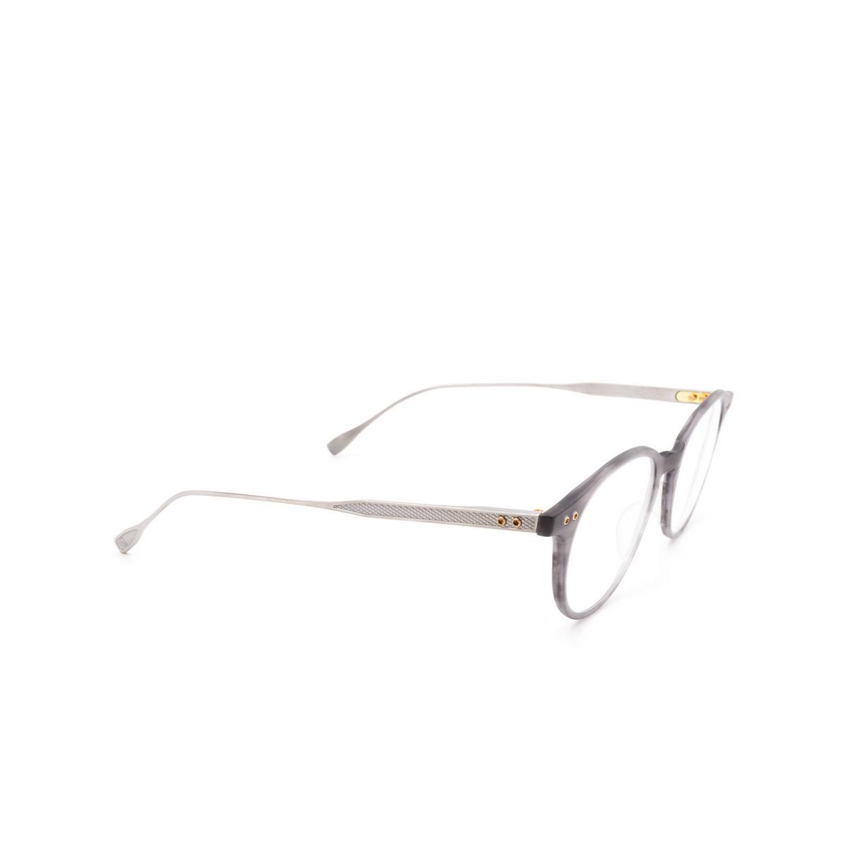 Dita® Round Eyeglasses: DRX2073 color C-gry-slv.
