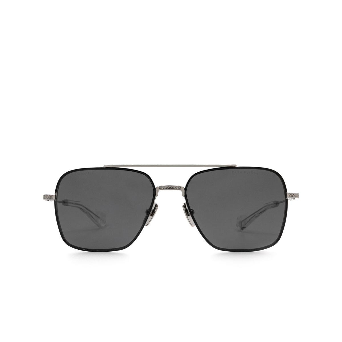 Dita® Aviator Sunglasses: DTS111-57-05-Z color Black Palladium Pld-blk.