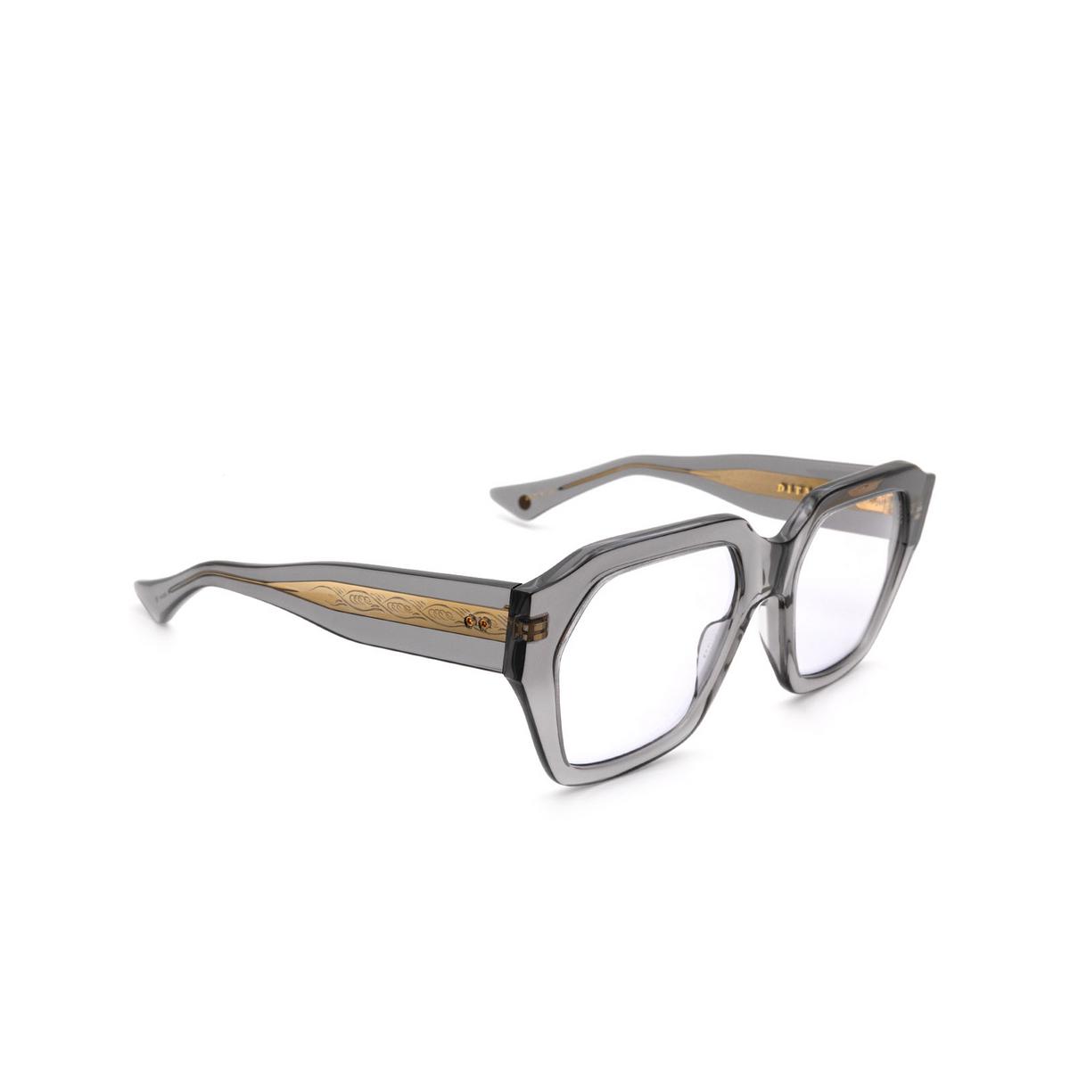Dita® Square Sunglasses: Tetramaker DTS709-A-02-A color Grey Gold Gry-gld.