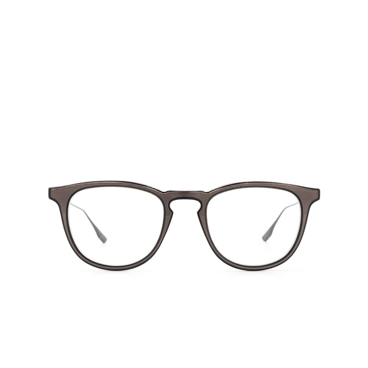 Dita® Square Eyeglasses: DTX105 color Blk-blk.