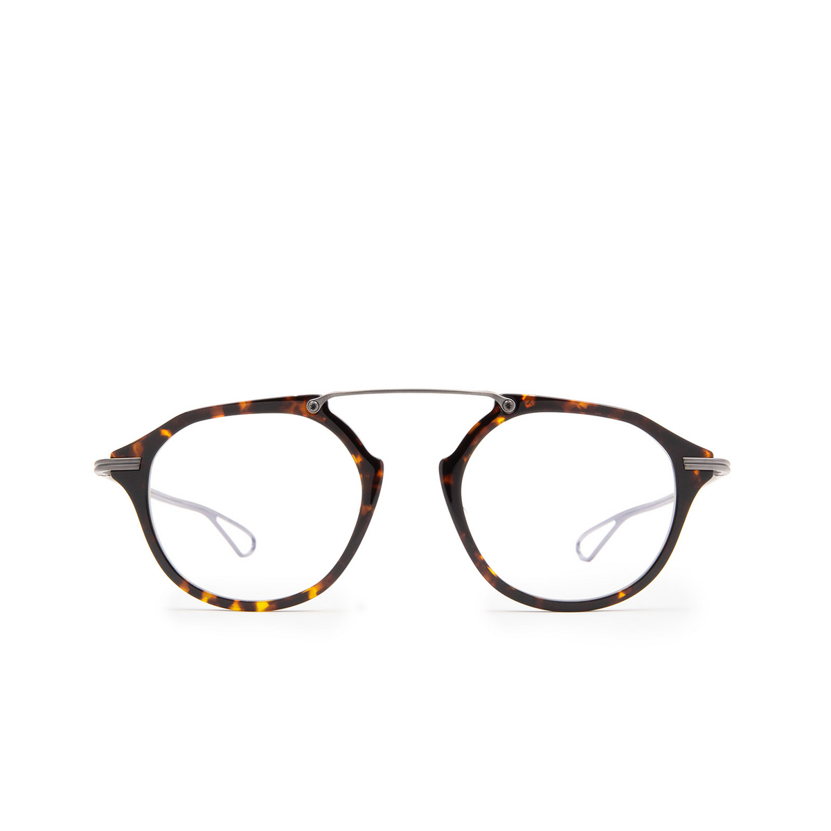 Dita® Aviator Eyeglasses: DTX119 color Trt-gun.