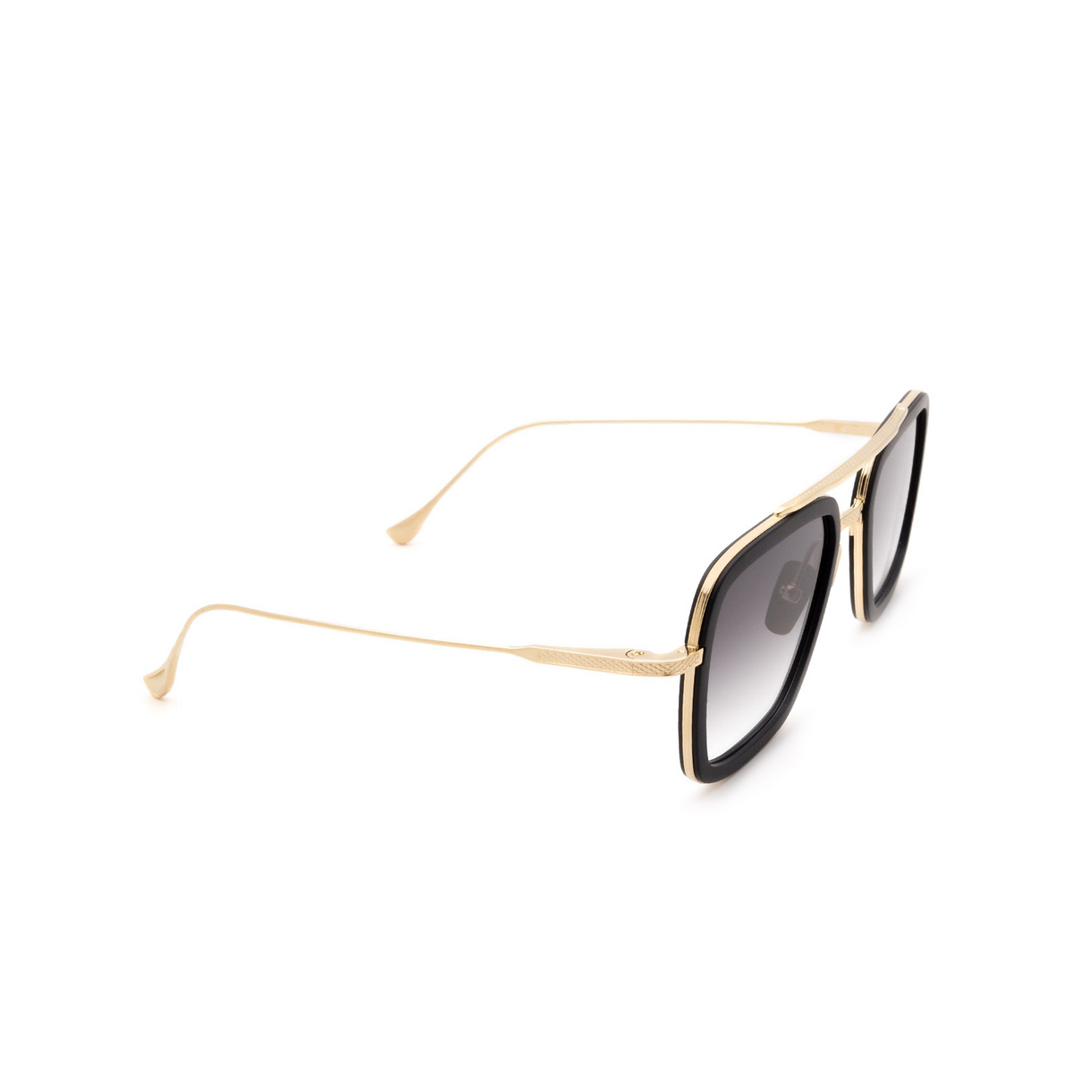 Dita® Aviator Sunglasses: Flight.006 7806-B color Black & Gold Blk-gld.