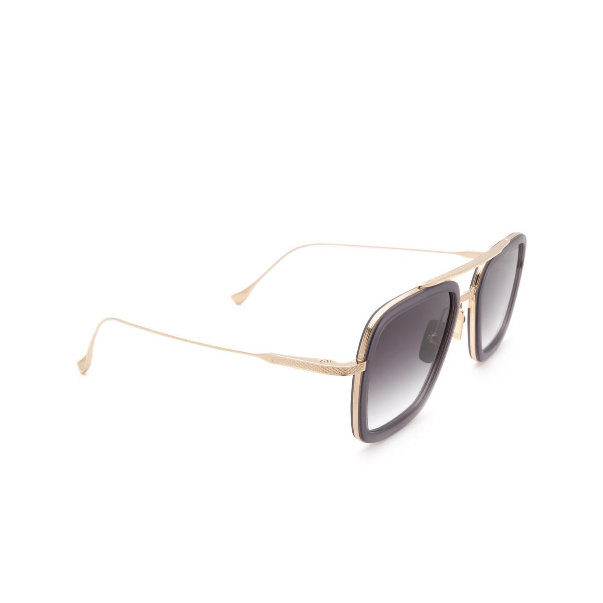 Dita® Aviator Sunglasses: Flight.006 7806-H color Grey Gold Gry-gld.
