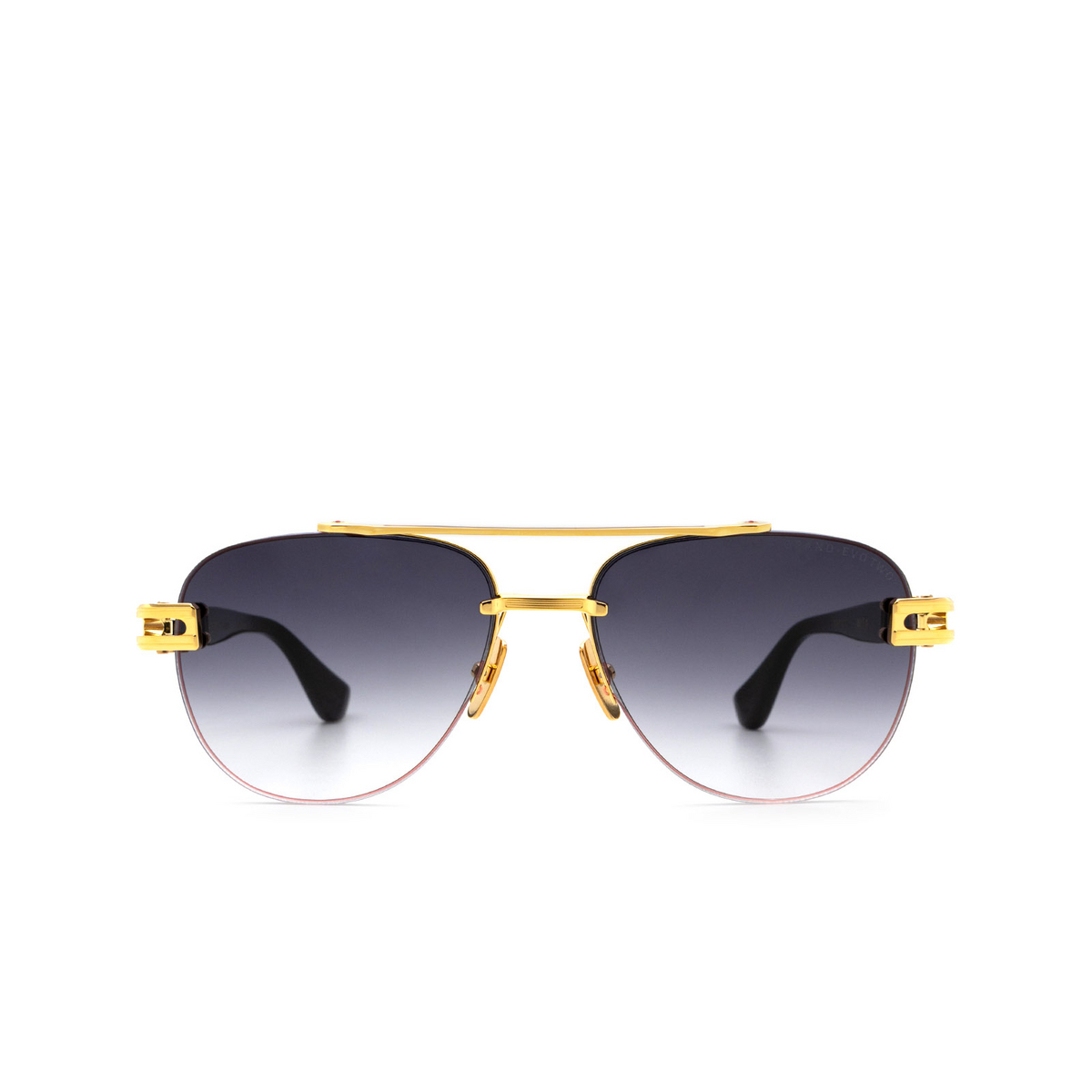 Dita® Aviator Sunglasses: Grand-evo Two DTS139-A-01-Z color Gold Black Gld-blk.