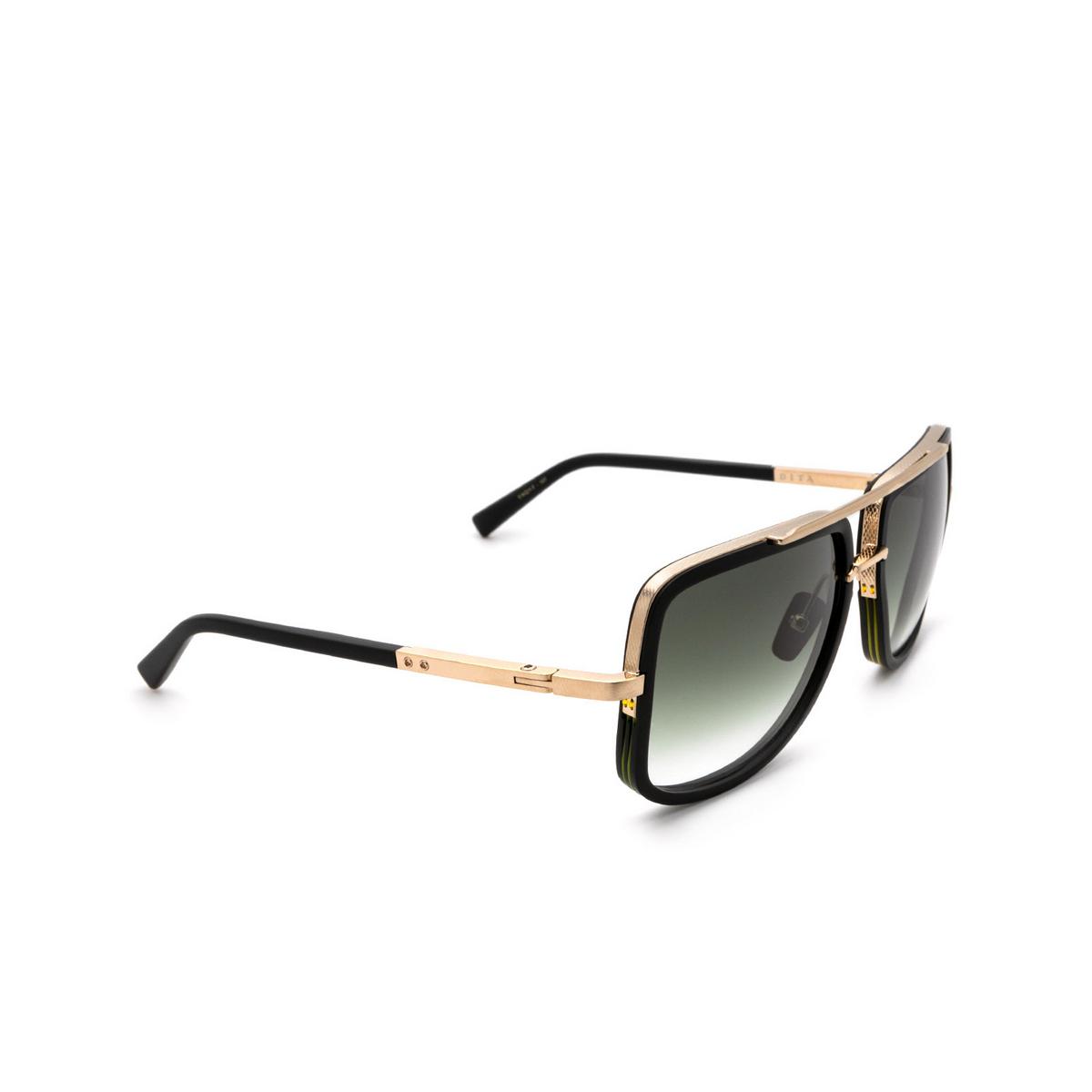 Dita® Aviator Sunglasses: Mach-one DRX-2030-F-BLK-12K-59-Z color Black BLK-12K.