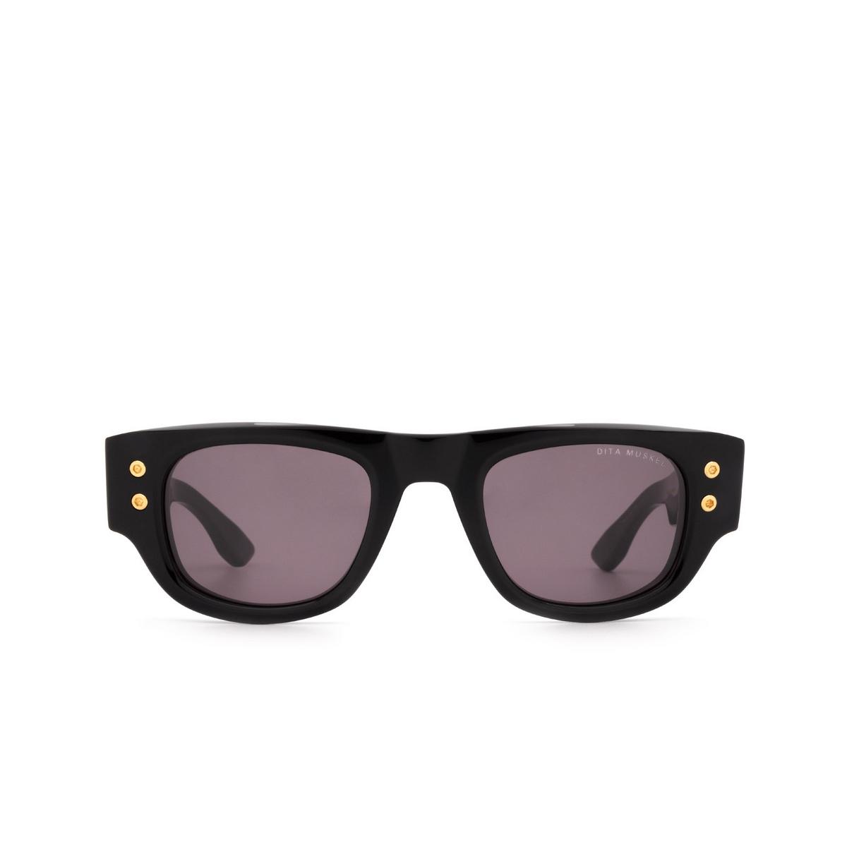 Dita® Rectangle Sunglasses: Muskel DTS701-A-01-Z color Black & Gold Blk-gld.