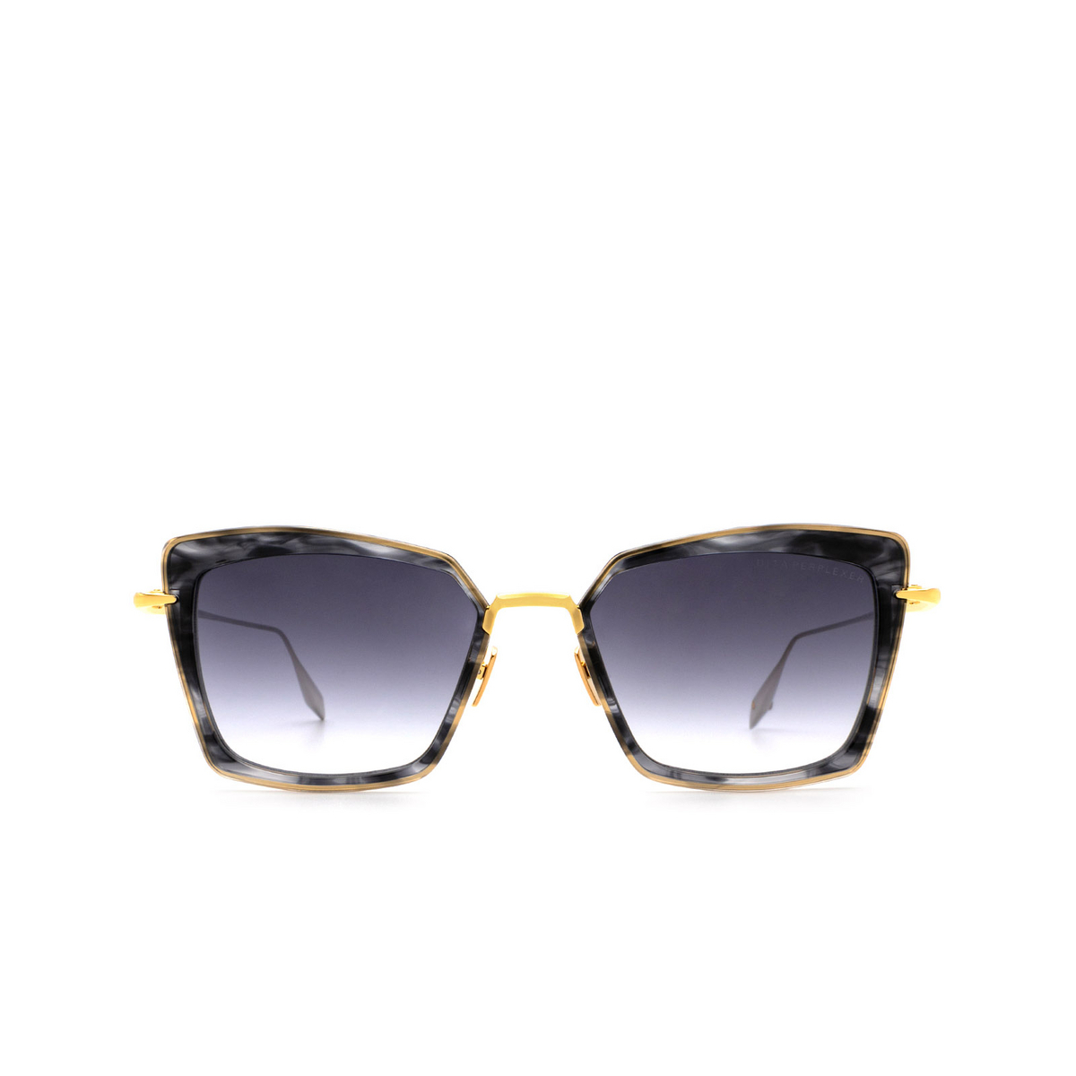 Dita® Butterfly Sunglasses: Perplexer DTS405-A-01 color Black Gold Blk-gld.