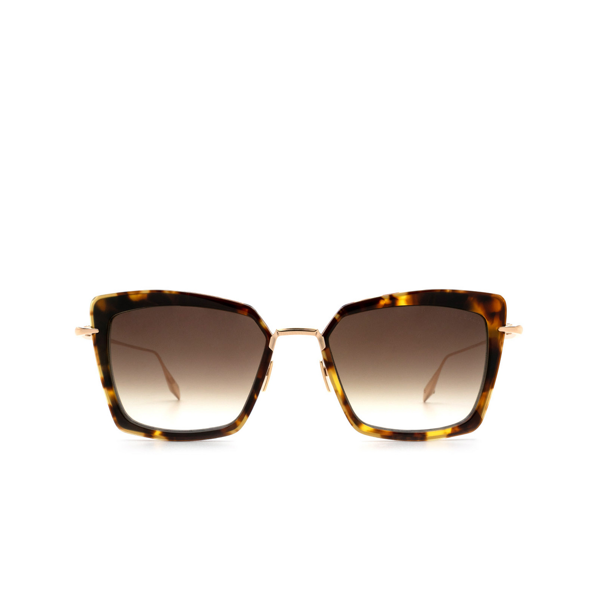 Dita® Butterfly Sunglasses: Perplexer DTS405-A-02 color Tortoise Gold Trt-gld - front view.