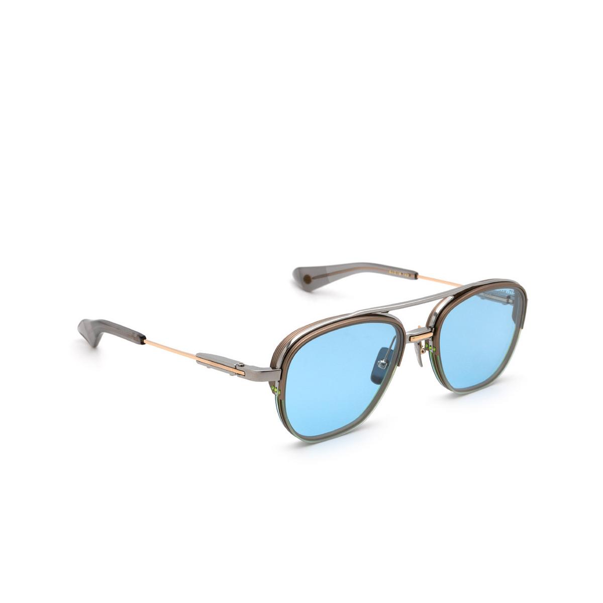 Dita® Aviator Sunglasses: Rikton-type 402 DTS117-54-02 color Palladium Grey Pld-gry.
