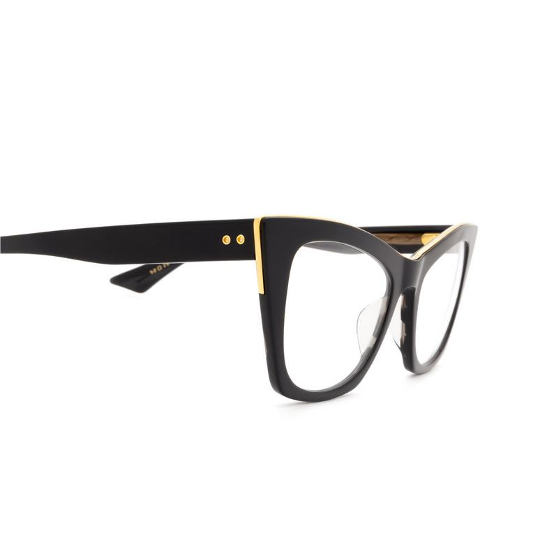 Dita® Cat-eye Eyeglasses: Showgoer DTX513-50-01-Z color Black & Gold Blk-gld.