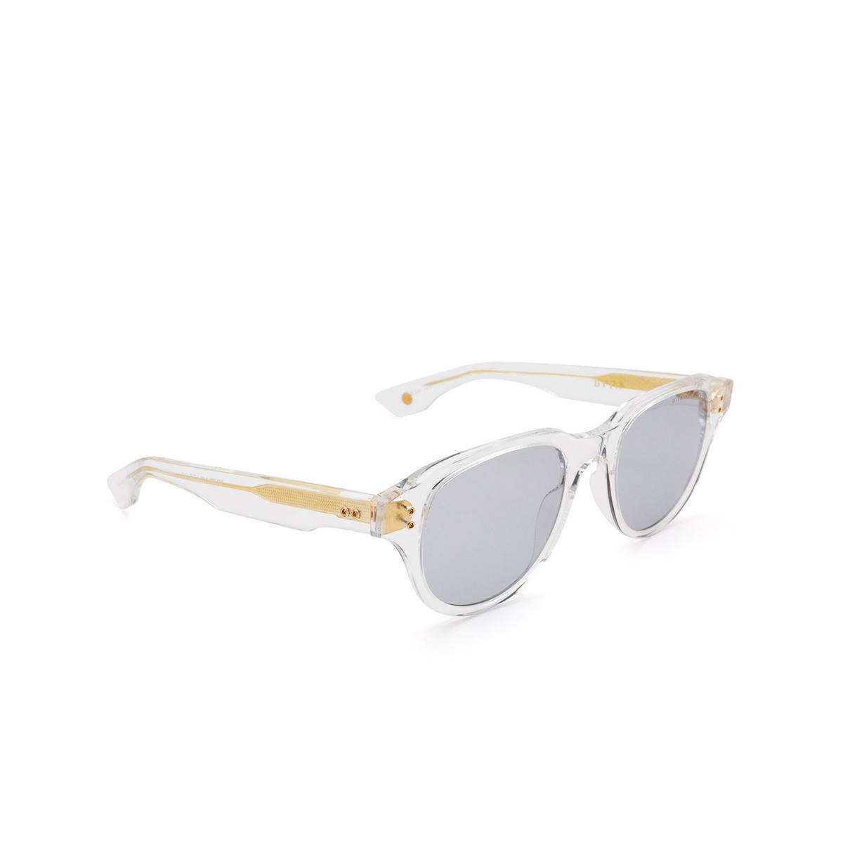 Dita® Square Sunglasses: Telehacker DTS708-A-03 color Crystal Gold Clr-gld.