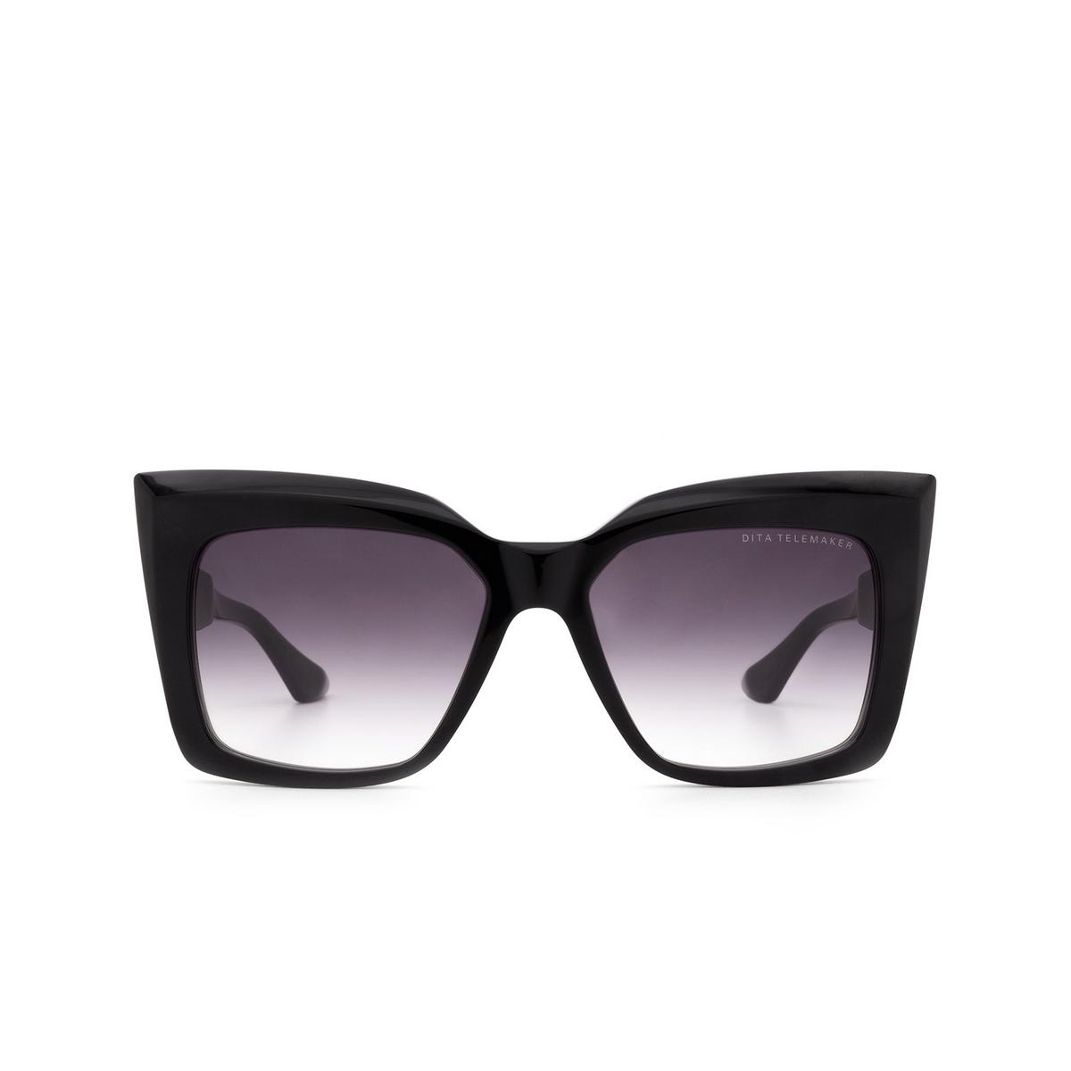 Dita® Butterfly Sunglasses: Telemaker DTS704-A-01-Z color Black Blk.