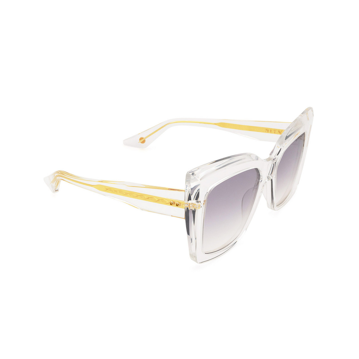 Dita® Butterfly Sunglasses: Telemaker DTS704-A-03-Z color Crystal Clr.