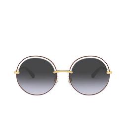 Dolce & Gabbana® Sunglasses: DG2262 color Bordeaux 13338G.