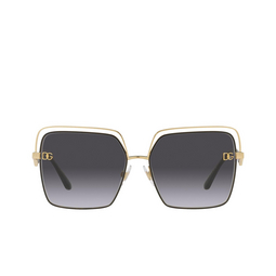 Dolce & Gabbana® Sunglasses: DG2268 color Gold/black 13348G.