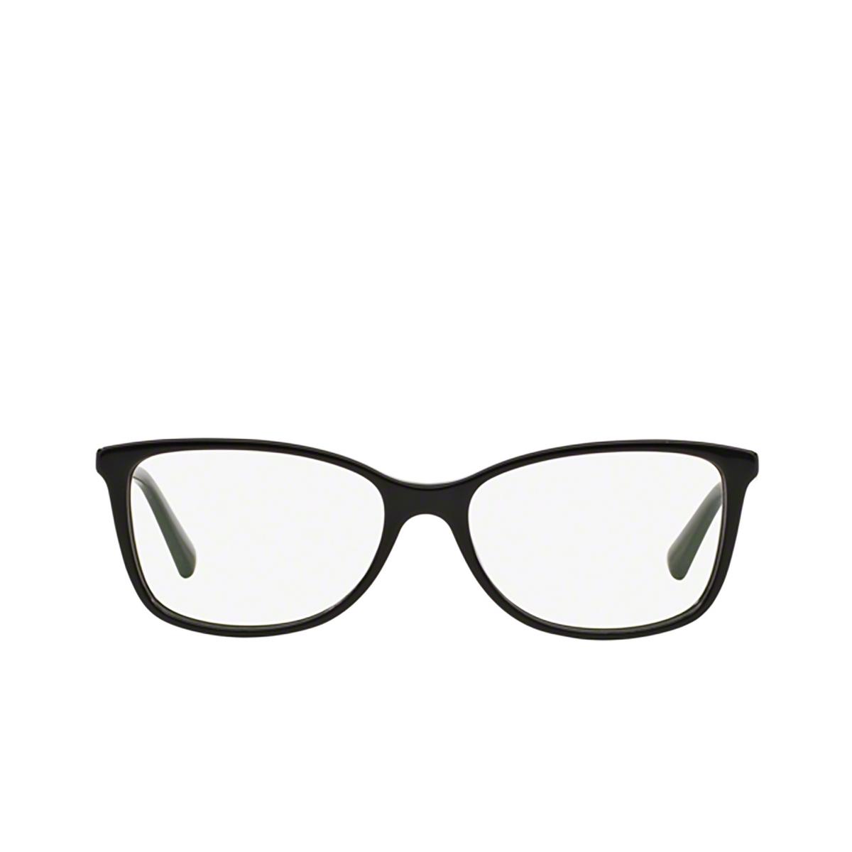 Dolce & Gabbana® Square Eyeglasses: DG3219 color Black 501 - front view.