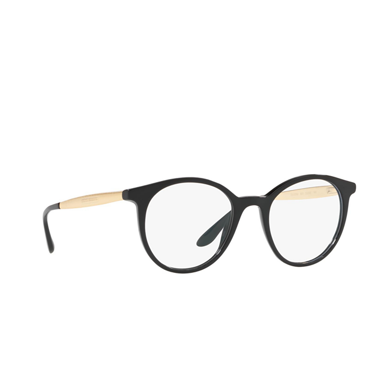 Dolce & Gabbana® Round Eyeglasses: DG3292 color 501 - three-quarters view.