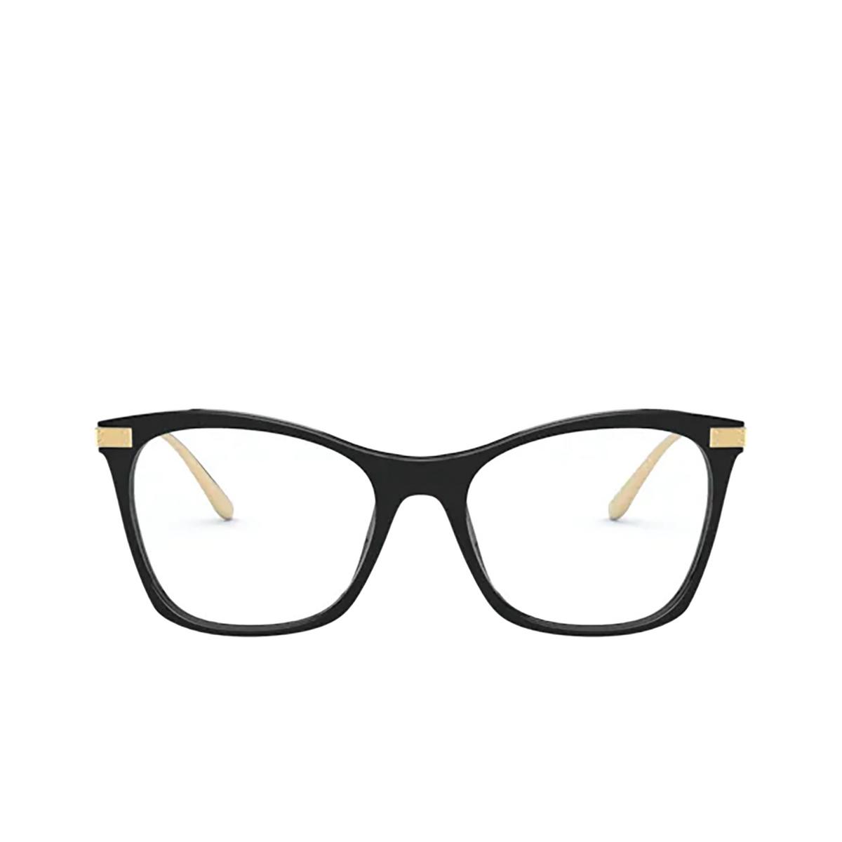 Dolce & Gabbana® Square Eyeglasses: DG3331 color Black 501 - front view.