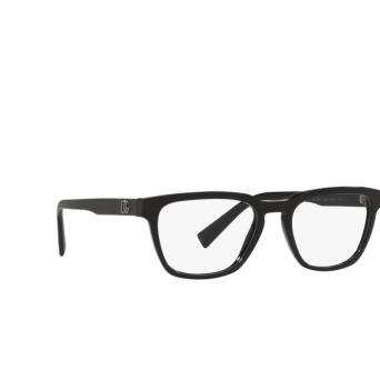 Dolce & Gabbana® Square Eyeglasses: DG3333 color Nero Texture Spigato 3298.