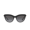 Dolce & Gabbana® Cat-eye Sunglasses: DG4335 color Black 501/8G - product thumbnail 1/3.