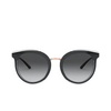 Dolce & Gabbana® Round Sunglasses: DG4371 color Top Crystal On Black 53838G - product thumbnail 1/3.