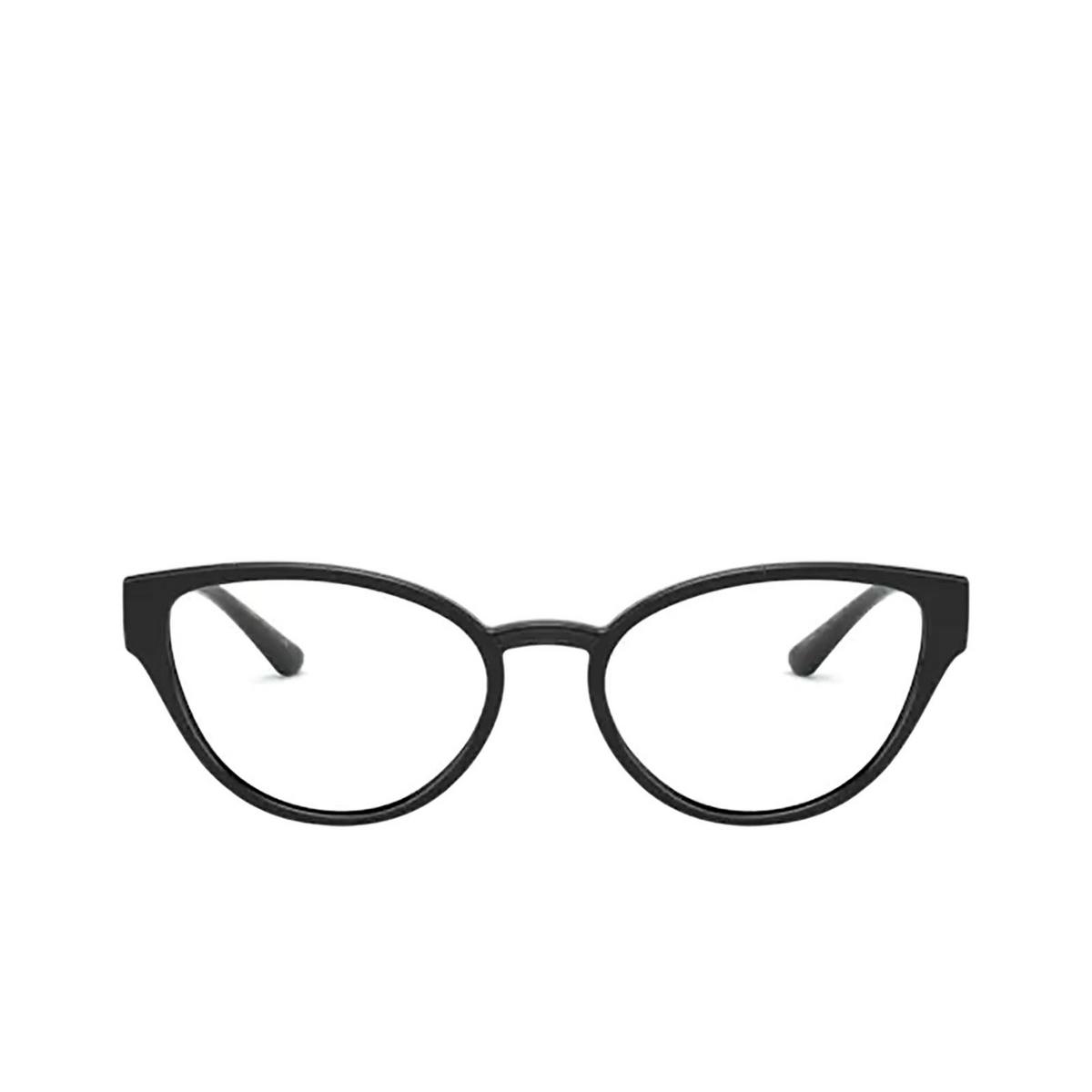 Dolce & Gabbana® Cat-eye Eyeglasses: DG5055 color Black 5012 - front view.
