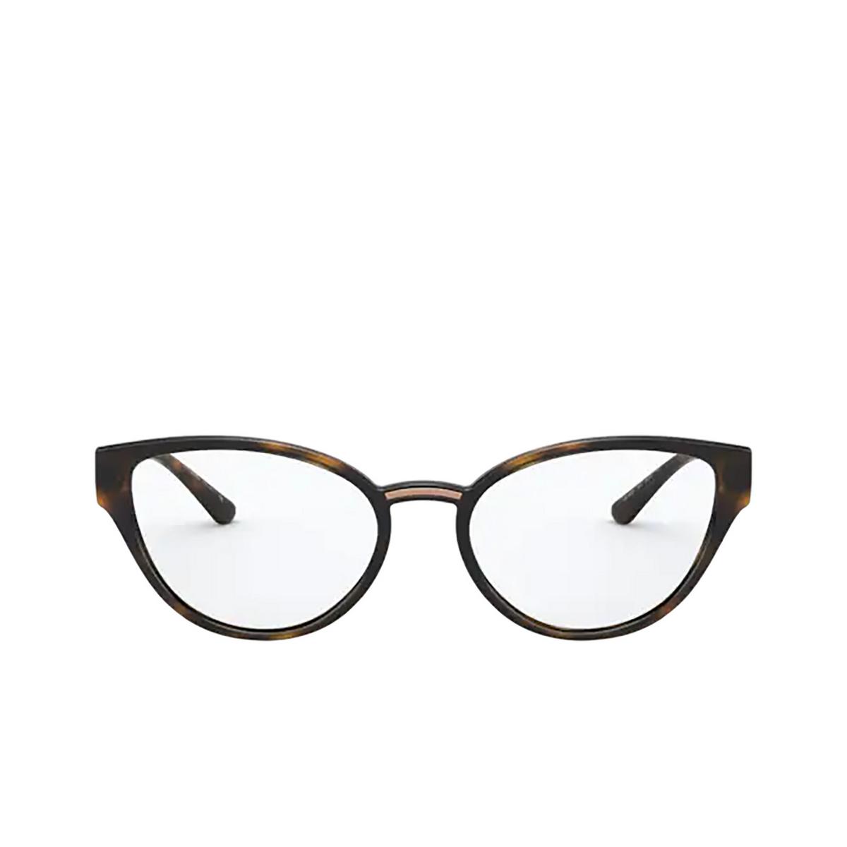 Dolce & Gabbana® Cat-eye Eyeglasses: DG5055 color Havana 502 - front view.