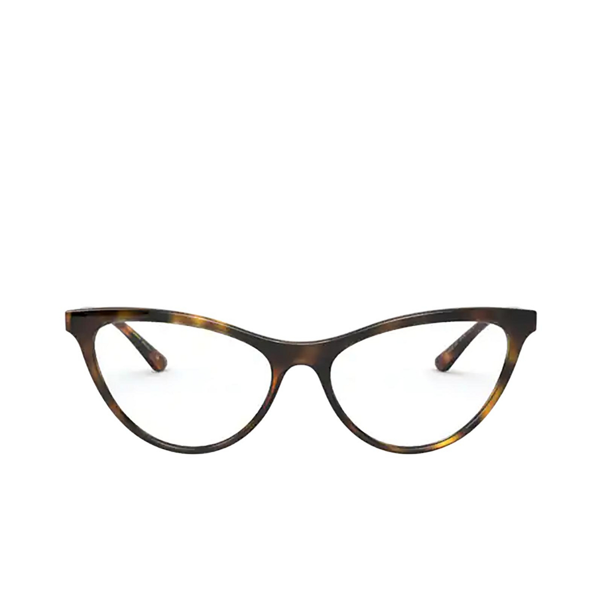 Dolce & Gabbana® Cat-eye Eyeglasses: DG5058 color Havana 502 - front view.