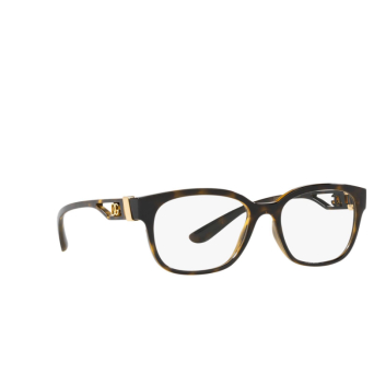 Dolce & Gabbana® Rectangle Eyeglasses: DG5066 color Havana 502.