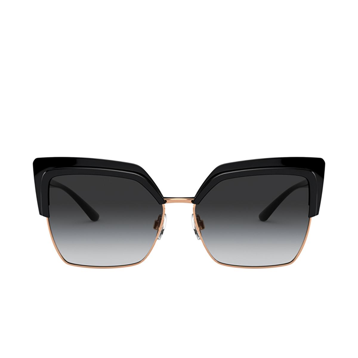 Dolce & Gabbana® Butterfly Sunglasses: DG6126 color Black 501/8G - 1/3.