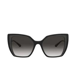 Dolce & Gabbana® Square Sunglasses: DG6138 color Black On Transparent Grey 32468G.