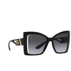Dolce & Gabbana® Butterfly Sunglasses: DG6141 color Black 501/8G - product thumbnail 2/3.
