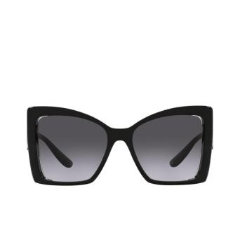 Dolce & Gabbana® Butterfly Sunglasses: DG6141 color Black 501/8G.