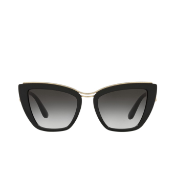 Dolce & Gabbana® Cat-eye Sunglasses: DG6144 color Black 501/8G.