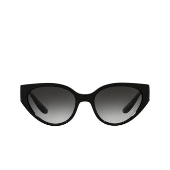 Dolce & Gabbana® Cat-eye Sunglasses: DG6146 color Black 501/8G.