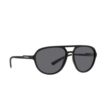 Dolce & Gabbana® Aviator Sunglasses: DG6150 color Matte Black 252581.