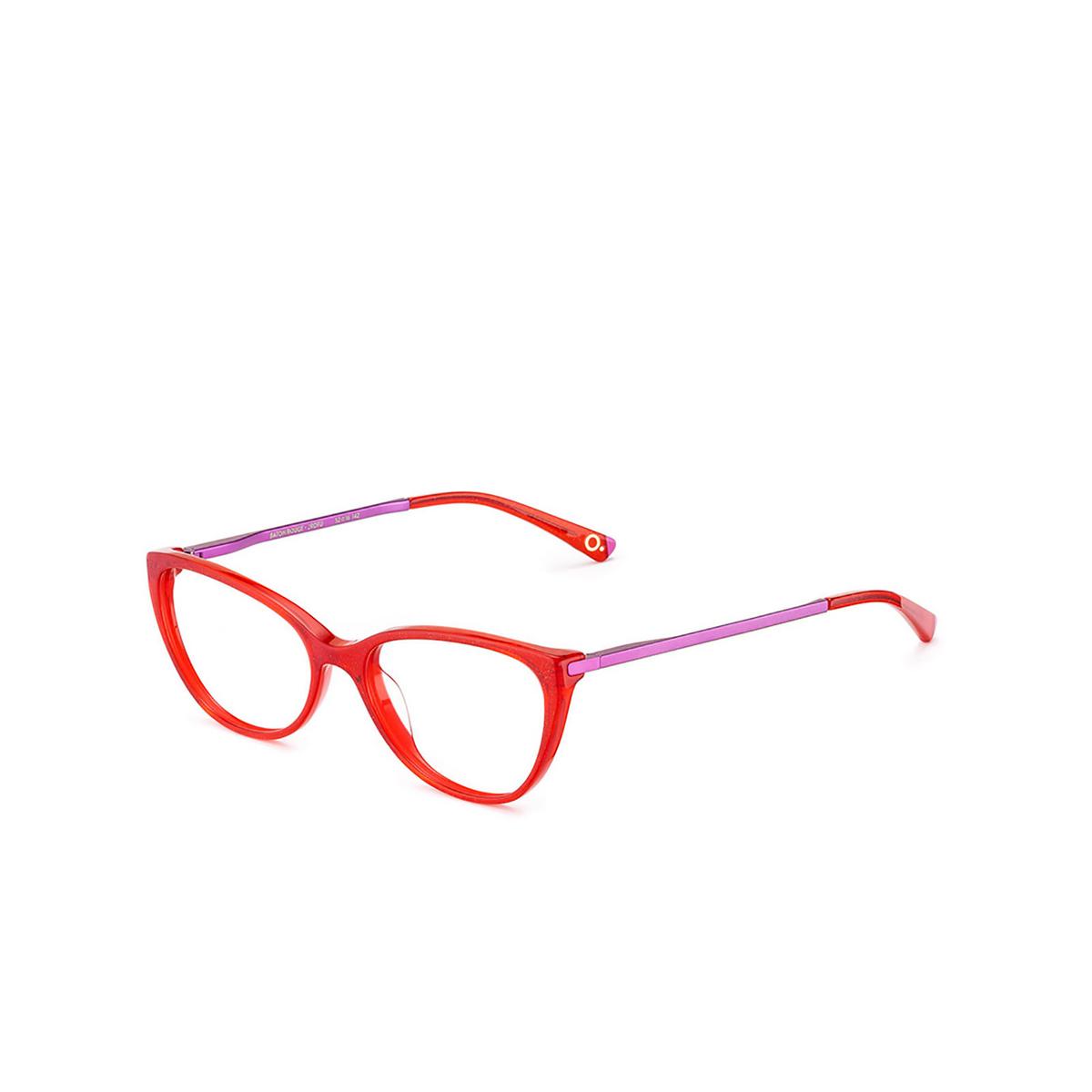 Etnia Barcelona® Butterfly Eyeglasses: Baton Rouge color Rdfu - three-quarters view.