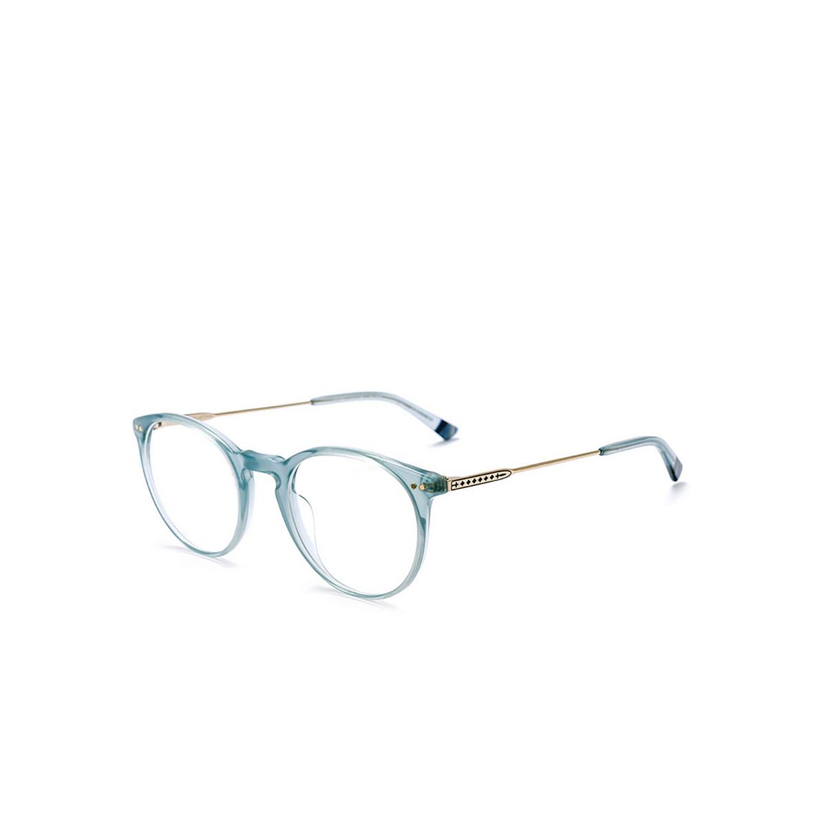 Etnia Barcelona® Round Eyeglasses: Jordaan Met color Blgd - three-quarters view.