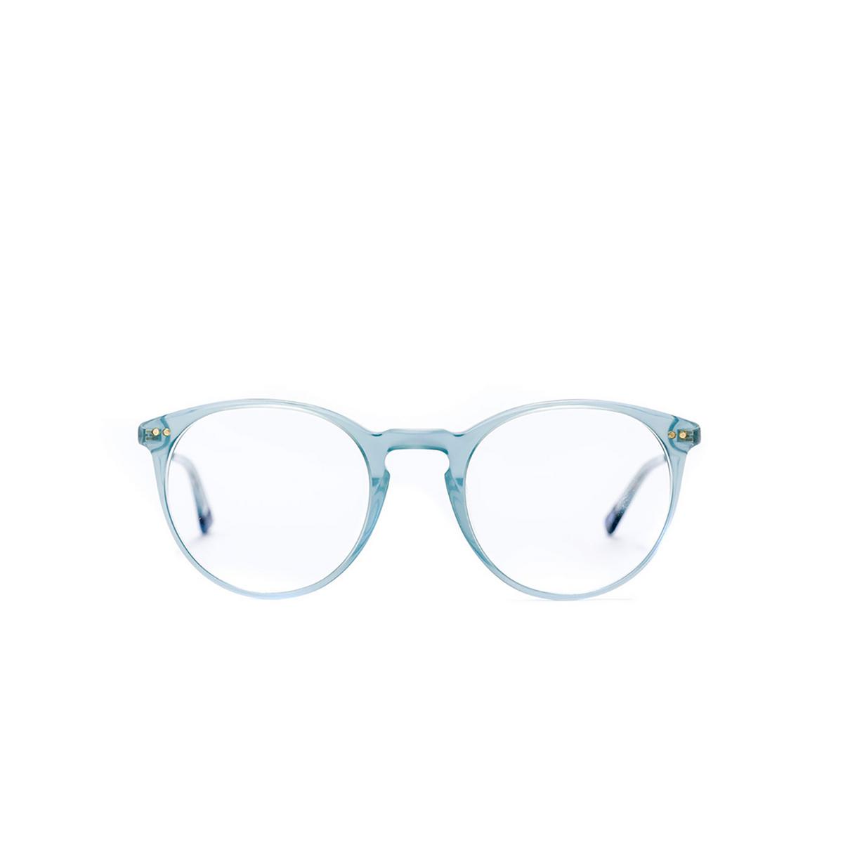 Etnia Barcelona® Round Eyeglasses: Jordaan Met color Blgd - front view.