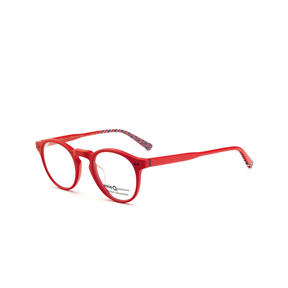 Etnia Barcelona® Round Eyeglasses: Mission District color Rdbl - three-quarters view.